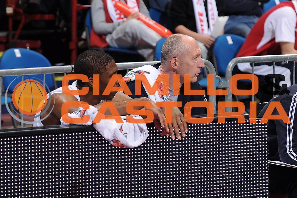 DESCRIZIONE : Milano Lega A 2009-10 Armani Jeans Milano Lottomatica Vitus Roma<br /> GIOCATORE : Morris Finley<br /> SQUADRA : Armani Jeans Milano<br /> EVENTO : Campionato Lega A 2009-2010 <br /> GARA : Armani Jeans Milano Lottomatica Vitus Roma<br /> DATA : 25/04/2010<br /> CATEGORIA : Ritratto Delusione<br /> SPORT : Pallacanestro <br /> AUTORE : Agenzia Ciamillo-Castoria/A.Dealberto<br /> Galleria : Lega Basket A 2009-2010 <br /> Fotonotizia : Milano Campionato Italiano Lega A 2009-2010 Armani Jeans Milano Lottomatica Vitus Roma<br /> Predefinita :