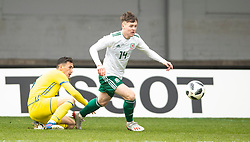 NEWPORT, WALES - Tuesday, November 19, 2019: Wales' Harry Pinchard during the UEFA Under-19 Championship Qualifying Group 5 match between Kosovo and Wales at Rodney Parade. (Pic by Laura Malkin/Propaganda)
