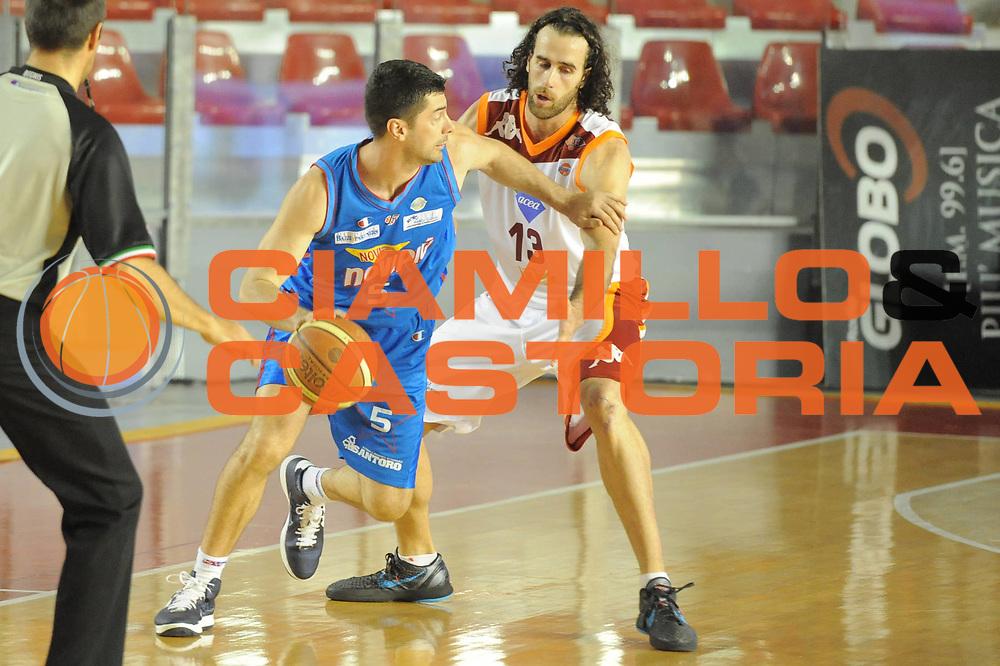DESCRIZIONE : Roma Lega Basket A 2011-12  Acea Virtus Roma Novipiu Casale Monferrato<br /> GIOCATORE : Matteo Malaventura<br /> CATEGORIA : controcampo palleggio<br /> SQUADRA : Novipiu Casale Monferrato<br /> EVENTO : Campionato Lega A 2011-2012 <br /> GARA : Acea Virtus Roma Novipiu Casale Monferrato<br /> DATA : 29/04/2012<br /> SPORT : Pallacanestro  <br /> AUTORE : Agenzia Ciamillo-Castoria/ GiulioCiamillo<br /> Galleria : Lega Basket A 2011-2012  <br /> Fotonotizia : Roma Lega Basket A 2011-12 Acea Virtus Roma Novipiu Casale Monferrato <br /> Predefinita :