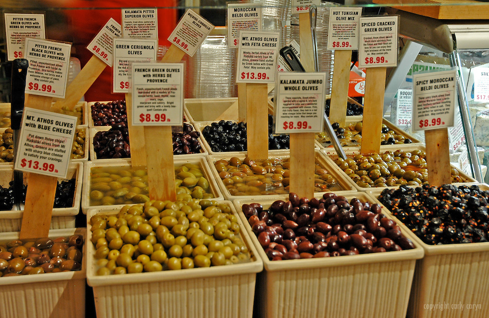 Olives at Murray's