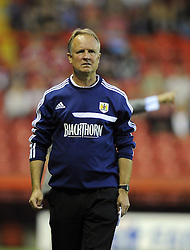 Bristol City Head coach, Sean O'Driscoll  - Photo mandatory by-line: Joe Meredith/JMP - Tel: Mobile: 07966 386802 27/08/2013 - SPORT - FOOTBALL - Ashton Gate - Bristol - Bristol City V Crystal Palace -  Capital One Cup - Round 2