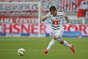11.04.2015; Thun; Fussball Super League - FC Thun - FC Luzern; Dario Lezcano Farina (FC Luzern) (Martin Meienberger/freshfocus)