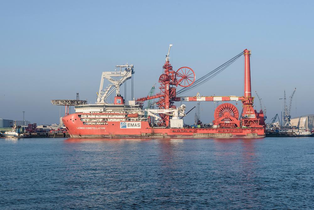 Lewek Constellation, 9629756, EMAS, Pipelay and construction vessel, Schiedam, Netherlands