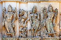 Inde, Gujarat, Palitana, temples de Shatrunjaya // India, Gujarat, Palitana, Shatrunjaya temple