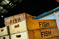 National Railway Museum, York, North Yorkshire, United Kingdom, 01 November, 2014. Pictured: Fish Boxes