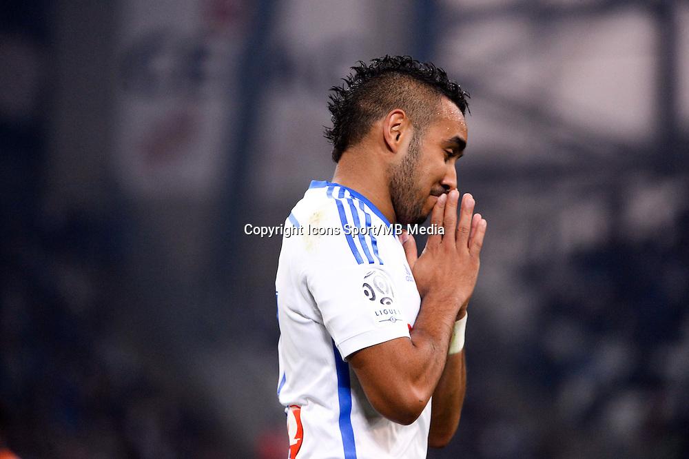 Deception Dimitri PAYET - 24.04.2015 - Marseille / Lorient - 34eme journee de Ligue 1<br />Photo : Gaston Petrelli / Icon Sport
