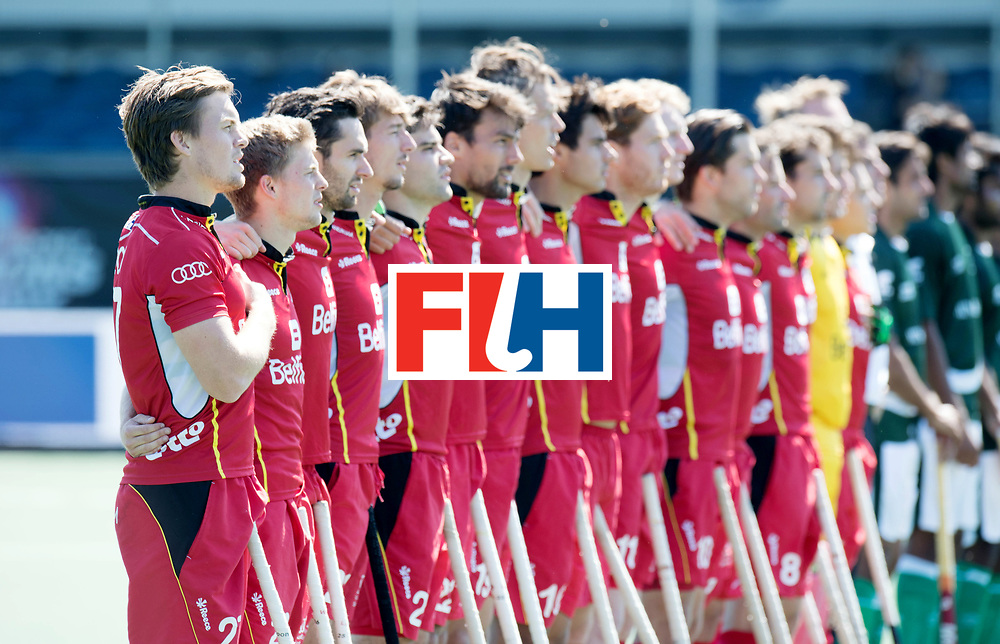 BREDA - Rabobank Hockey Champions Trophy<br /> 5th/6th place Belgium - Pakistan<br /> Photo: Tom Boon.<br /> COPYRIGHT WORLDSPORTPICS FRANK UIJLENBROEK