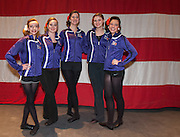 Chelmsford Girls during a Worlds Preview Party at Chelmsford High School featuring dancers who have qualified for the Irish Dance World Championships in Montreal, Mar. 21, 2015.   (Wicked Local Photo/James Jesson).