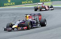 Sebastian Vettel (Red Bull Racing)<br /> Formel 1, Grosser Preis Santander von Deutschland 2014, Hockenheimring<br /> Norway only<br /> F1
