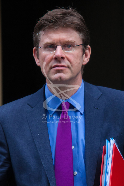 London, March 10th 2015. Ministers arrive at the weekly cabinet meeting at 10 Downing Street. PICTURED: Greg Clark, Minister of State for Universities, Science and Cities