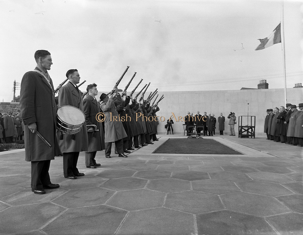 06/04/1958 <br /> 04/06/1958<br /> 06 April 1958<br /> <br /> Arbour HIll Commemoration (Fianna Fail)