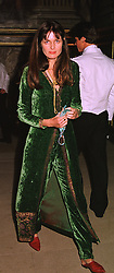 Artist INDIA-JANE BIRLEY, half sister of Jemima Khan, at a banquet in Surrey on 12th November 1998.MLX 47