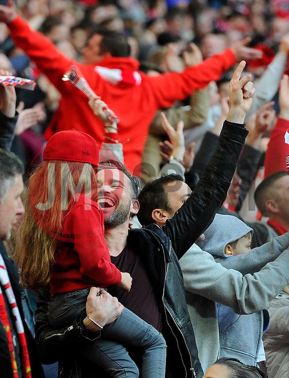 Dean Edwards  - Photo mandatory by-line: Joe Meredith/JMP - Mobile: 07966 386802 - 22/03/2015 - SPORT - Football - London - Wembley Stadium - Bristol City v Walsall - Johnstone Paint Trophy Final