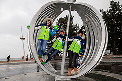 24-02-2018 KOR: Olympic Games day 15, PyeongChang<br /> Portrait Slovenian athletes by Gyeongpo Beach