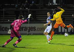 Mark McChrystal of Bristol Rovers joins in the attack - Mandatory byline: Neil Brookman/JMP - 07966 386802 - 06/10/2015 - FOOTBALL - Memorial Stadium - Bristol, England - Bristol Rovers v Wycombe Wanderers - JPT Trophy