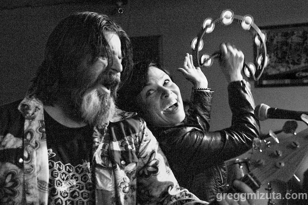 Danny Newcomb and the Sugarmakers (L to R: Rick Friel, Faith Stankevich)  perform at the Vista Bar on June 18, 2016 in Boise, Idaho. (Gregg Mizuta/greggmizuta.com)<br /> <br /> Members: Rick Friel, Faith Stankevich, Matt Jorgensen and Danny Newcomb.<br /> <br /> Band lineup: Danny Newcomb and the Sugarmakers, Lovey, Groggy Bikini, and the Piston Bully