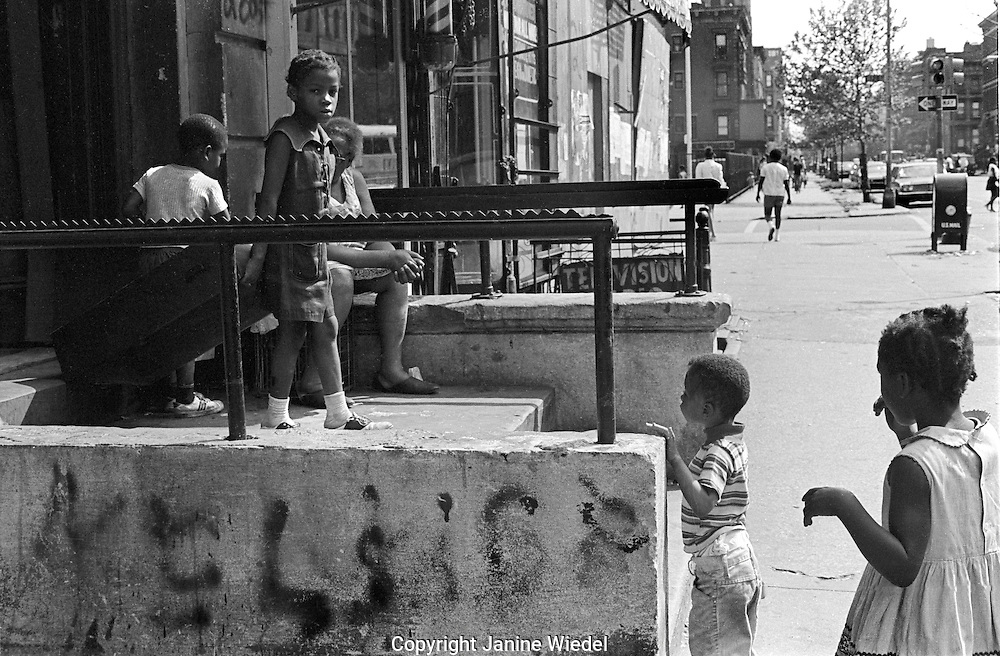 Storefront Childrens Educational project in Harlem New York City 1970's