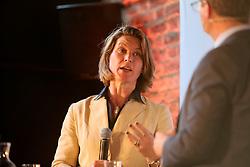 UK ENGLAND LONDON 22JUN16 - Stephanie Flanders of JP Morgan during a podium discussion hosted by Handelsblatt at the Beagle Bar & Restaurant, Hoxton, London.<br /> <br /> jre/Photo by Jiri Rezac<br /> <br /> © Jiri Rezac 2016