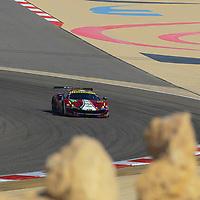 #51, AF Corse, Ferrari 488 GTE, driven by: James Calado, Alessandro Pier Guidi, WEC BAPCO 6 Hours of Bahrain, 17/11/2017,