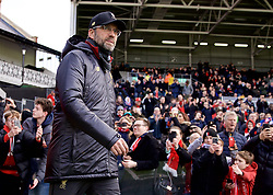 LONDON, ENGLAND - Sunday, March 17, 2019: Liverpool's manager Jürgen Klopp before the FA Premier League match between Fulham FC and Liverpool FC at Craven Cottage. (Pic by David Rawcliffe/Propaganda)