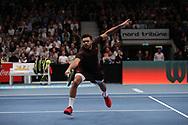 JO-WILFRIED TSONGA (FRA)<br /> <br /> Tennis - ERSTE BANK OPEN 2017 - ATP 500 -  Stadthalle - Wien -  - Oesterreich  - 29 October 2017. <br /> &copy; Juergen Hasenkopf