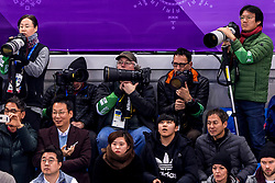 22-02-2018 KOR: Olympic Games day 13, PyeongChang<br /> Short Track Speedskating / Media fotograaf fotografen canon nikon, Soenar