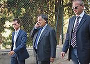 Leoluca Orlando mayor of Palermo.<br /> Leoluca Orlando sindaco di Palermo