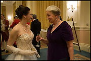 ELIZABETH SQUIRE; MRS. ALPIN MACGREGOR, The St. Petersburg Ball. In aid of the Children's Burns Trust. The Landmark Hotel. Marylebone Rd. London. 14 February 2015. Less costs  all income from print sales and downloads will be donated to the Children's Burns Trust.