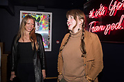 NOAH HARTNETT, PHILLIPA HORAN, The launch of HI-NOON a photography exhibition at Tramp, London. 29 October 2019