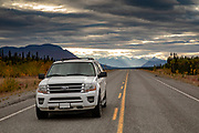 Driving the ALCAN Highway in the Yukon Territory
