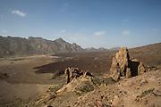 National park Las Canadas del Teide.
