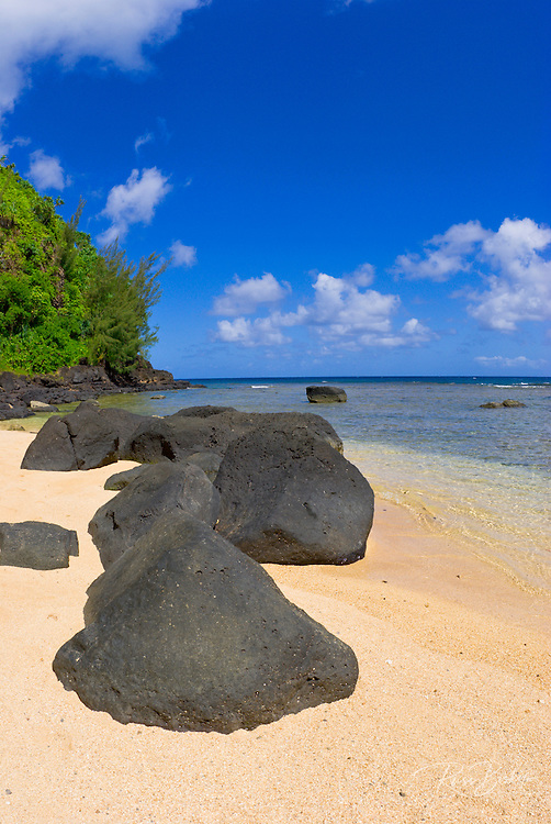 Sea Lodge Beach, North Shore, Island of Kauai, Hawaii