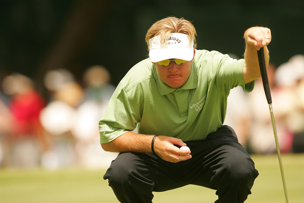 Brian Gay..2004 Colonial Invitational.Third Round.Colnial Country Club.Fort Worth, Texas.Saturday, May 22 2004.photograph by Darren Carroll