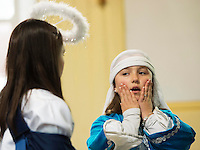 08/12/2014   Katelyn Malone playing Mary from Fanore National school performing the Nativity at the Church in Fanore Co. Clare   Photo:Andrew Downes