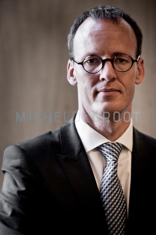 Aankomend president van de Nederlandse Bank (DNB)Klaas Knot in Berlijn, Duitsland.
