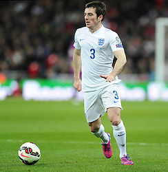 Leighton Baines of England (Everton)  - Photo mandatory by-line: Joe Meredith/JMP - Mobile: 07966 386802 - 27/03/2015 - SPORT - Football - London - Wembley Stadium - England v Lithuania - UEFA EURO 2016 Qualifier