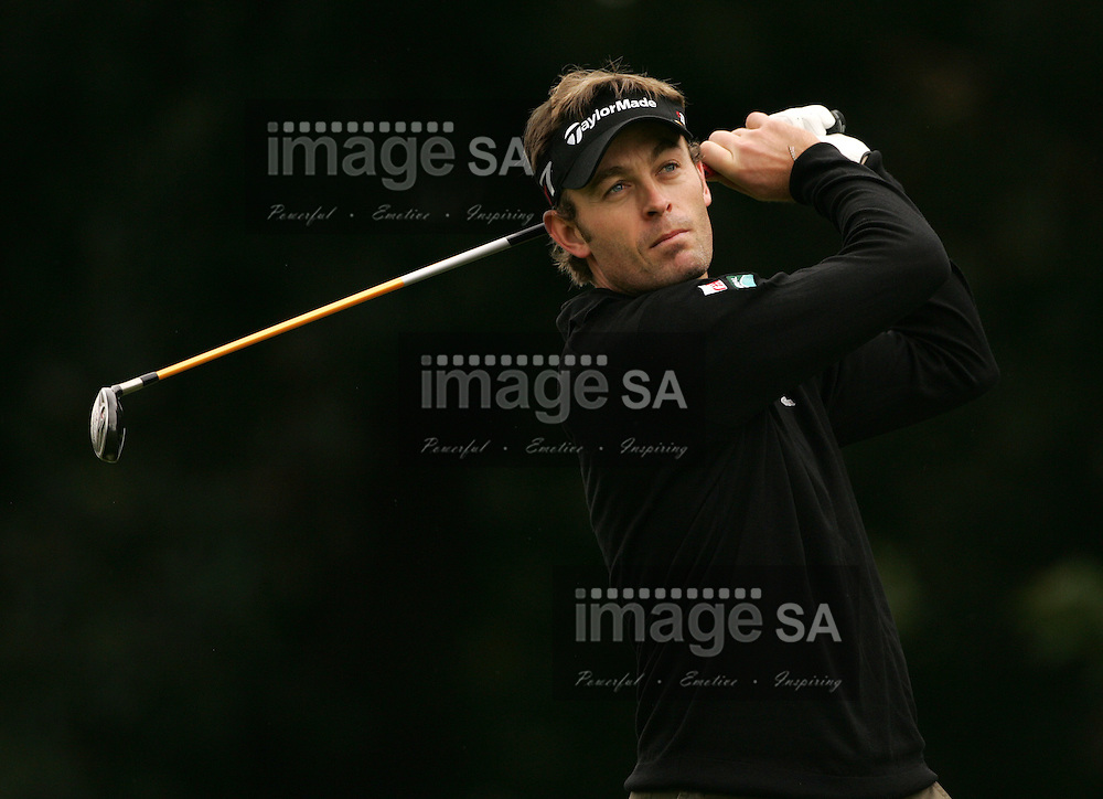 Joburg Open 2008 | Raphael Jaquelin | JOHANNESBURG, Thursday 10 January 2008, Raphael Jaquelin of France on the eleventh tee during the first round of the Joburg Open hosted at the Royal Johannesburg and Kensington Golf Club in Gauteng Province. ..Photo by Roger Sedres/ImageSA....