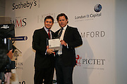 ARPAD BUSSON AND ROSS WESTGATE, Spear's Wealth Management High-Net-Worth Awards. Sotheby's. 10 July 2007.  -DO NOT ARCHIVE-© Copyright Photograph by Dafydd Jones. 248 Clapham Rd. London SW9 0PZ. Tel 0207 820 0771. www.dafjones.com.