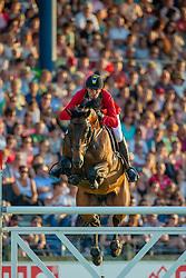 Wathelet Gregory (BEL) - Conrad de Hus <br /> Mercedes-benz Nationenpreis<br /> Weltfest des Pferdesports CHIO Aachen 2014<br /> © Hippo Foto - Dirk Caremans