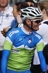 Grega Bole (Slovenia) during the Men's Elite Road Race at the UCI Road World Championships on September 25, 2011 in Copenhagen, Denmark. (Photo by Marjan Kelner / Sportida Photo Agency)