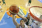 DESCRIZIONE : Alicante Spagna Spain Eurobasket Men 2007 Italia Slovenia Italy Slovenia <br /> GIOCATORE : Andrea Crosariol<br /> SQUADRA : Nazionale Italia Uomini Italy <br /> EVENTO : Eurobasket Men 2007 Campionati Europei Uomini 2007 <br /> GARA : Italia Slovenia Italy Slovenia <br /> DATA : 03/09/2007 <br /> CATEGORIA : Special<br /> SPORT : Pallacanestro <br /> AUTORE : Ciamillo&amp;Castoria/Fiba <br /> Galleria : Eurobasket Men 2007 <br /> Fotonotizia : Alicante Spagna Spain Eurobasket Men 2007 Italia Slovenia Italy Slovenia <br /> Predefinita :