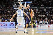 DESCRIZIONE : Beko Legabasket Serie A 2015- 2016 Dinamo Banco di Sardegna Sassari - Manital Auxilium Torino<br /> GIOCATORE : Stefano Mancinelli<br /> CATEGORIA : Palleggio Schema Mani<br /> SQUADRA : Manital Auxilium Torino<br /> EVENTO : Beko Legabasket Serie A 2015-2016<br /> GARA : Dinamo Banco di Sardegna Sassari - Manital Auxilium Torino<br /> DATA : 10/04/2016<br /> SPORT : Pallacanestro <br /> AUTORE : Agenzia Ciamillo-Castoria/C.Atzori