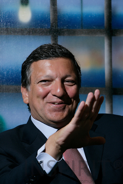 BRUSSELS - BELGIUM - 28 AUGUST 2007 --  Jose Manuel BARROSO President of the European Commission.  Photo: Erik Luntang