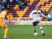 Dundee's Jim McAlister - Motherwell v Dundee at Fir Park in the Clydesdale Bank Scottish Premier League.. - © David Young - www.davidyoungphoto.co.uk - email: davidyoungphoto@gmail.com