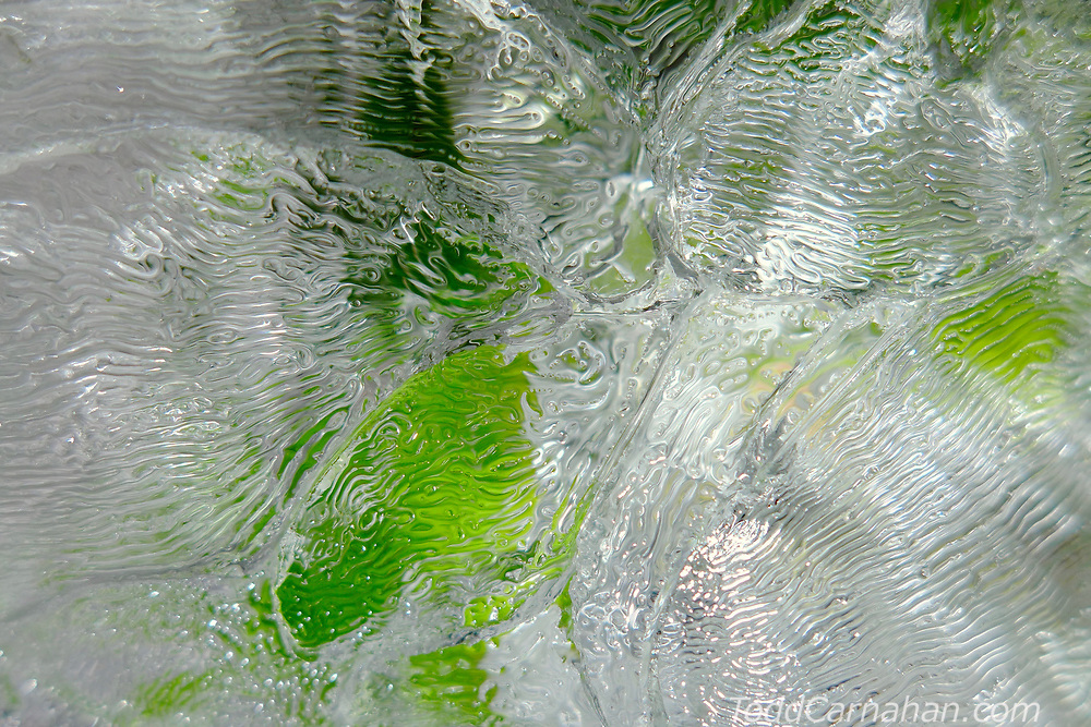 ice green pattern