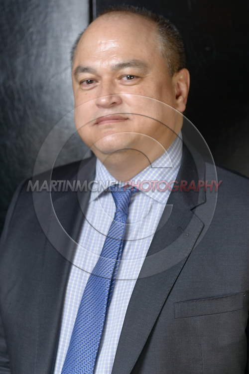 "LONDON, ENGLAND, APRIL 18, 2016: Bellator CEO Scott Coker poses for a portrait following the event announcement press conference for ""Bellator 158: Slice vs. Thompson"" inside the Four Seasons Hotel in Park Lane, London (© Martin McNeil)"