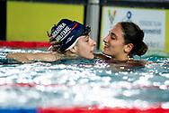 ROMEI Giorgia ITA Marina Militare, QUADARELLA Simona ITA Fiamme Rosse<br /> 400 Stile Libero Donne<br /> Campionato Italiano Assoluto UnipolSai Primaverile di Nuoto 06/04/2019<br /> Nuoto Swimming<br /> <br /> Stadio del Nuoto di Riccione<br /> Photo © Andrea Masini/Deepbluemedia/Insidefoto