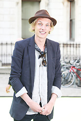 © London News Pictures. 05/06/2013. London, UK. Gwendoline ChristieJamie Campbell Bower Summer Exhibition 2013 - Preview Party . Photo credit : Brett D. Cove/PiQtured/LNP