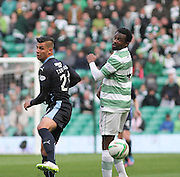 Dundee's Luka Tankulic and Celtic's Efe Ambrose -  Celtic v Dundee - SPFL Premiership at Celtic Park<br /> <br /> <br />  - © David Young - www.davidyoungphoto.co.uk - email: davidyoungphoto@gmail.com