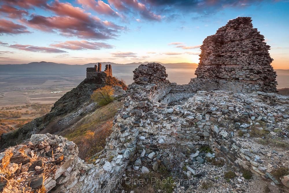 Ancient Bulgarian fortress Kopsus